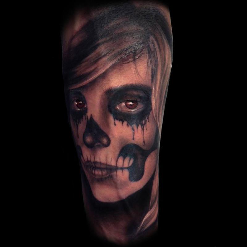 Eejmplo tatuaje catrina