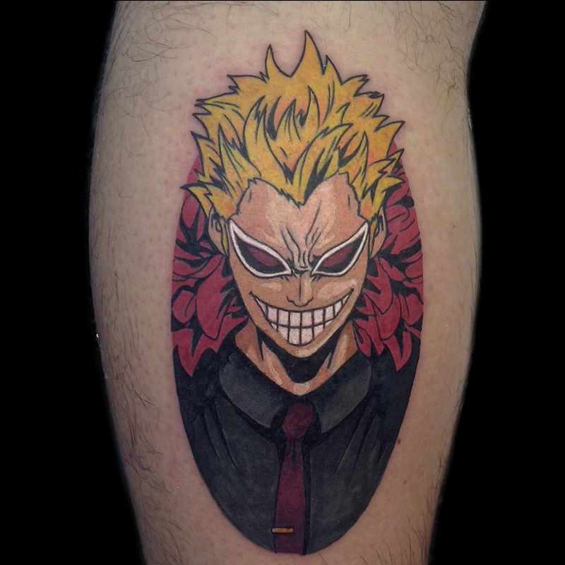 Tattoo anime one piece