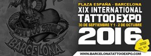 Barcelona tattoo expo 2016