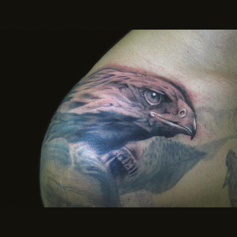 Tatuaje águila