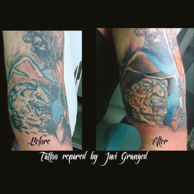 Tatuaje cover up ejemplo
