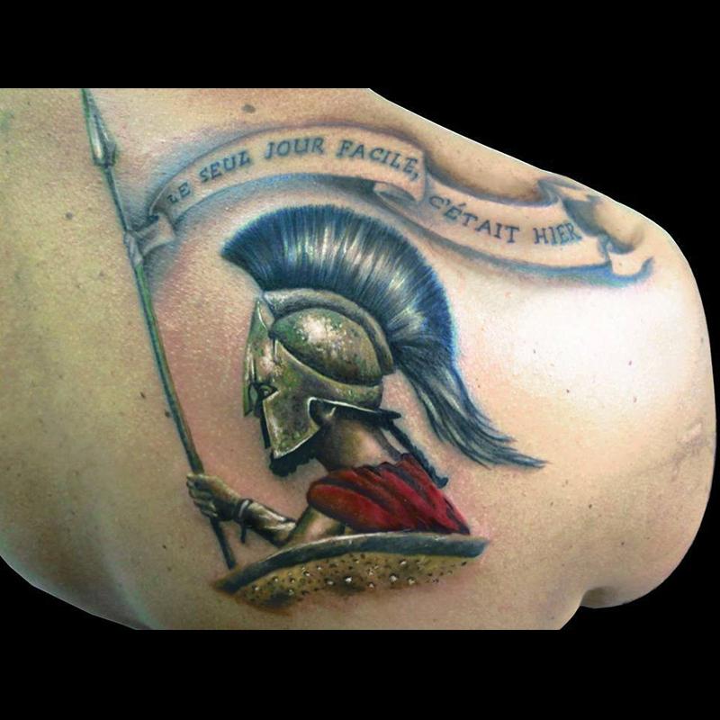 tatuaje legionario