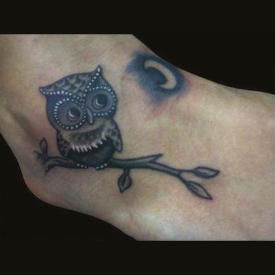 Tatuaje en el tobillo