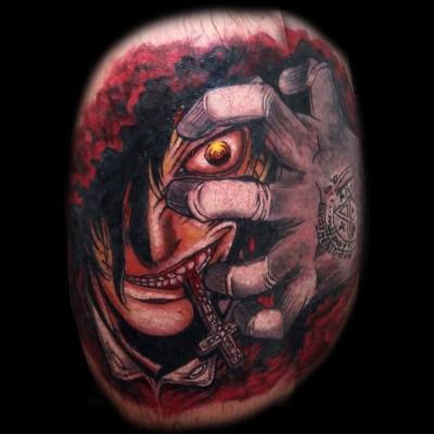 Alucard tatuaje