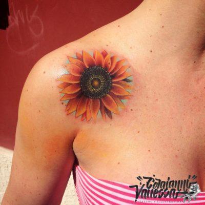 Girasoles tattoo