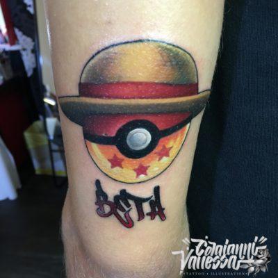 Tatuaje pokemon