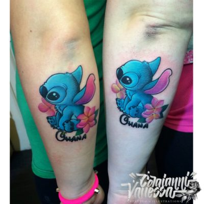 Stich (Lilo & Stich), cartoon