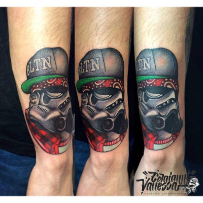Storm Tropper Tattoo chicano Style Hip Hop