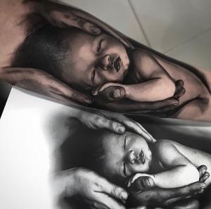 Fran Blanco - Tattoo baby