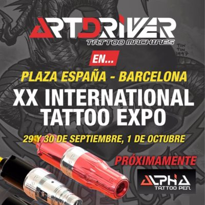 Art Driver Barcelona tattoo expo Pro Arts