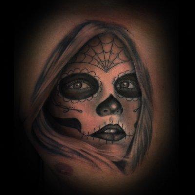 Tatuaje catrina