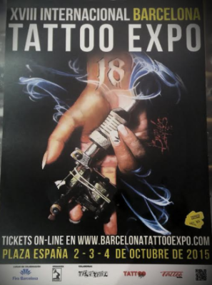 entradas tatoo expo Barcelona 2015