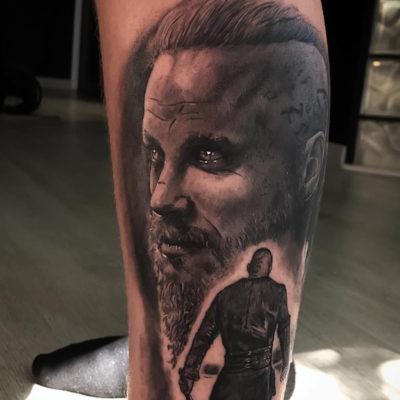 Vikings-Ragnar lothbrok - Fran Blanco